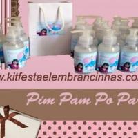 Sabonete líquido personalizado com foto e tema