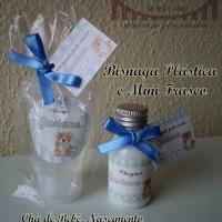 Mini Frasco e Bisnaga com Álccol Gel/Hidratante/Sabonete Líquido