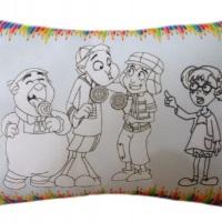 Kit Pintura ( canetinha + almofada personalizada)
