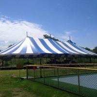 Lona de circo profissional modelo reta 16x30m