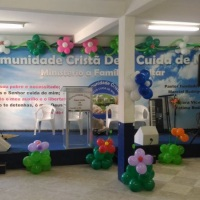 Evento na Igreja Cristã Deus Cuida de Mim