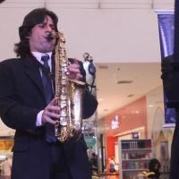 Saxofone, som muito romântico