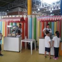 Locação de barracas de algodão doce e pipoca para colégios e escolas foto: volta as aulas