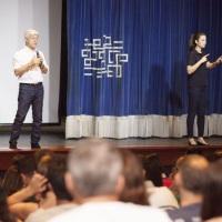 Interpretação simultânea em Libras, Palestra do Caco Barcellos - Superando desafios, em 2016