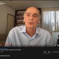 Interpreptação simultânea remota para Libras Drauzio Varella