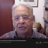 Interpreptação simultânea remota para Libras Fernando Henrique Cardoso
