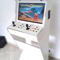 Fliperama com 1000 jogos e tela de Lcd
