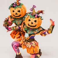 Abóboras de Halloween.