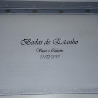 Caderno personalizado para eventos especiais (bodas, 15 anos e outros)