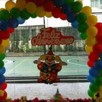 Arco circo/palhaço