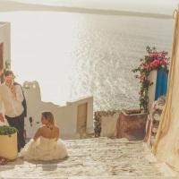 Trash the Dress em Santorini / Grécia
