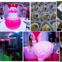 Organizadora + Decoração + Buffet + Material Foto e Vídeo + Dj e Iluminação + Equipe Garçom