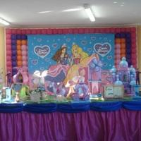 Barbie castelo diamantes, temos vários temas da Barbie