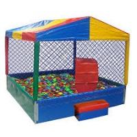 ----> Casinha de Bolinha (2x2) crianças a partir de 1 ano até 8 anos.