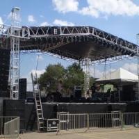 palcos de vários tamanhos