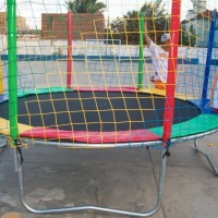 CAMA ELÁSTICA 4 METROS, com esta cama elástica, as crianças brincarão de pular juntas.