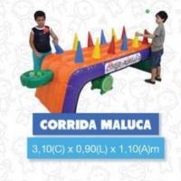 CORRIDA MALUCA, estimula a concentração e rapidez da criançada.
