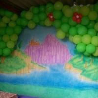 decoração em balão