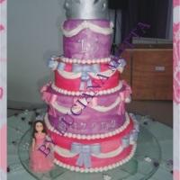 Bolo 15 Anos - Princesa