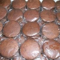 Brigadeiro e foundant de chocolate