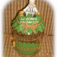 Pote para Macarrão !!! By Lu gomes - Arte, Sabor e Cia