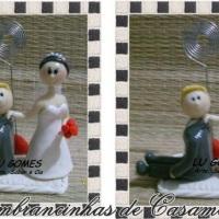 Lembrançinhas de Casamento/ Noivinhos !!!  By Lu Gomes - Arte, Sabor e Cia.