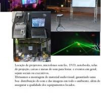 Locação de Audio e video