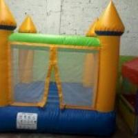 O castelo inflável