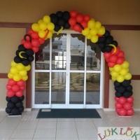 Arco de balões Os Incríveis
