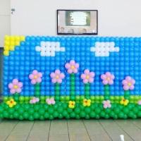 Painel de balões formatura