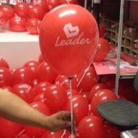 Balões na vareta