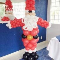 Papai Noel de balões