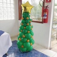 Arvore de natal de balões