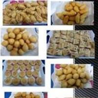 Deliciosos salgados, linha fritura e assados. 46 tipos de salgados linha fritura e 16 tipos de forno