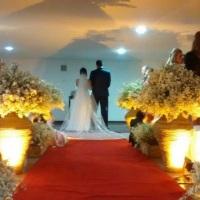 Cerimônia dos noivos Daniel e Daniela.