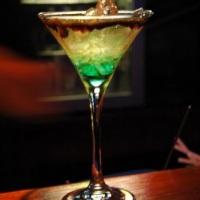 Drink exclusivo desenvolvido na residência do cliente.