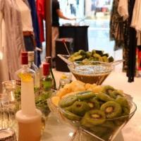 Balcão de bar com frutas
