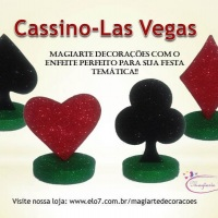 Tema para festa Cassino, Las Vegas!