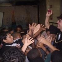 Festa dia das Crianças no Caic Santa Cruz.