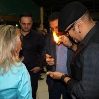 Mágico Dilli em evento BNI Bandeirantes.