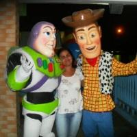 Toy Story Buzz e Wood