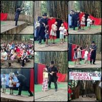 Show do Circo Social no Parque Areião em 06/05/2017