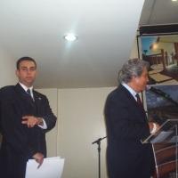Com o então Ministro das Comunicações, Helio Costa