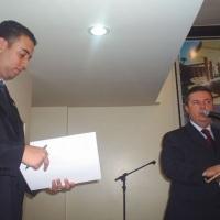 Com o então Governador de MG - Antonio Anastazia