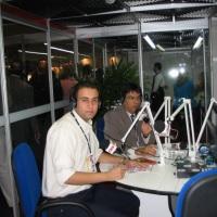 Na equipe da Rádio CBN, há alguns anos atrás