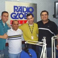 Na equipe da Rádio Globo Minas, há alguns anos atrás