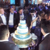Corte do bolo....hummmmm delícia!