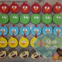 Cupcake Turma da Galinha Pintadinha