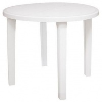 mesa de plastico branca