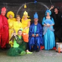 Teatro para projeto escola.  O reino da aquarela